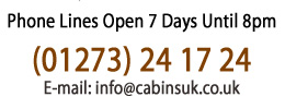 Cabins UK Contacts