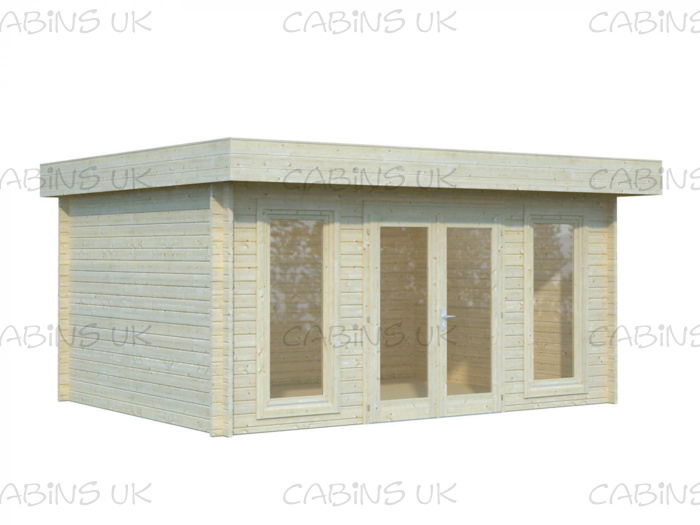 New Age (44 mm) Log Cabin