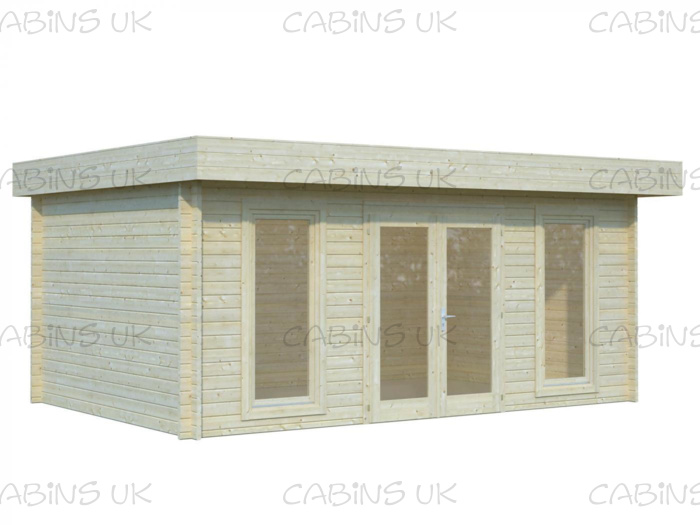 Lodge (44 mm) Log Cabin