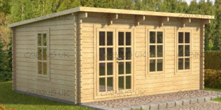 Barry (44 mm) Log Cabin