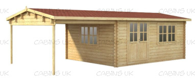 Brady (44 mm) Log Cabin