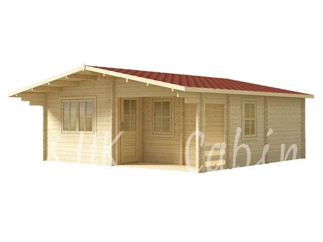Fenn 6m x 6m Log Cabin