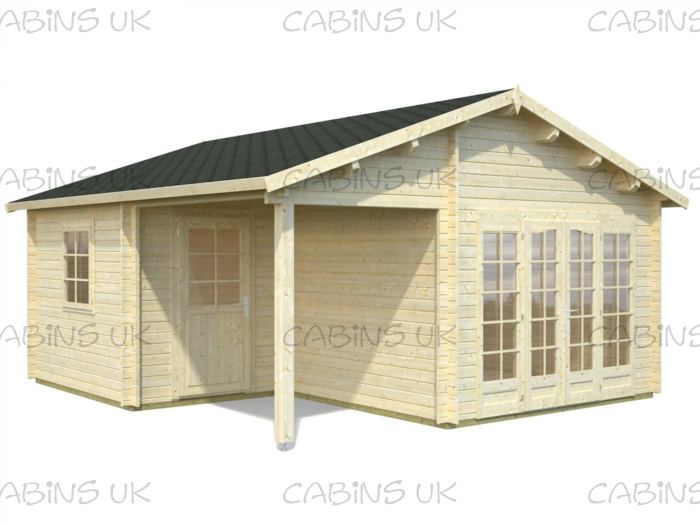 Milo (44 mm) Log Cabin