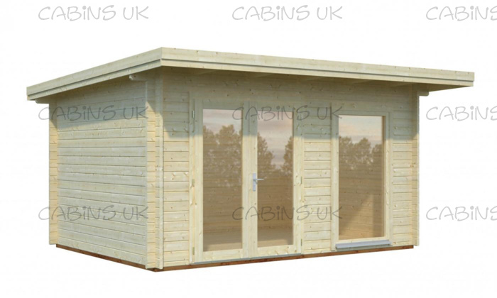 (44 mm) Log Cabin