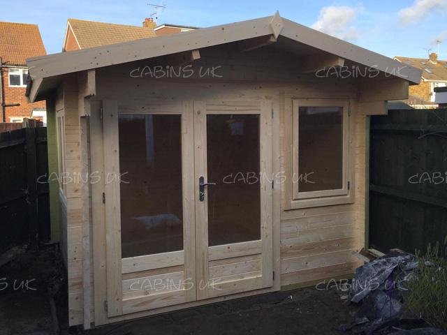 King 3m x 4m Log Cabin