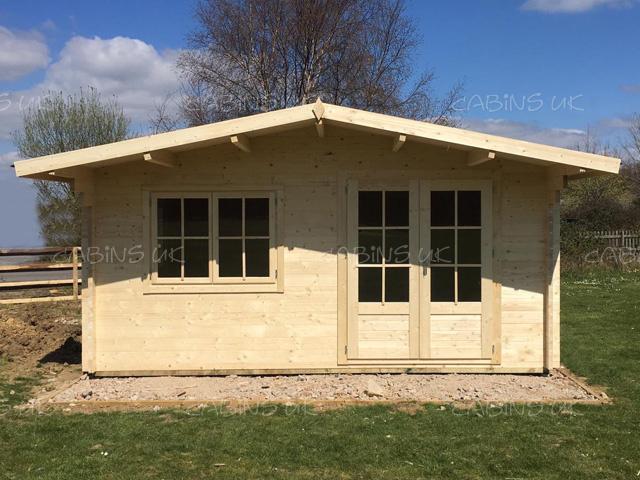 King 5m x 5m Log Cabin