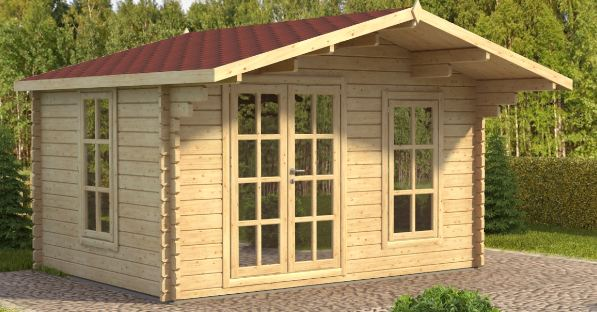 King Plus(44 mm) Log Cabin