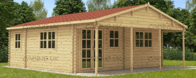 Ranch 3 (44 mm) Log Cabin