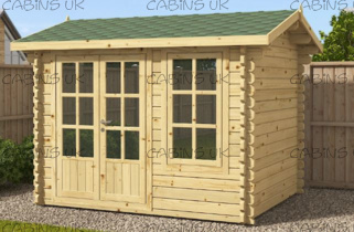 Snug(44 mm) Log Cabin