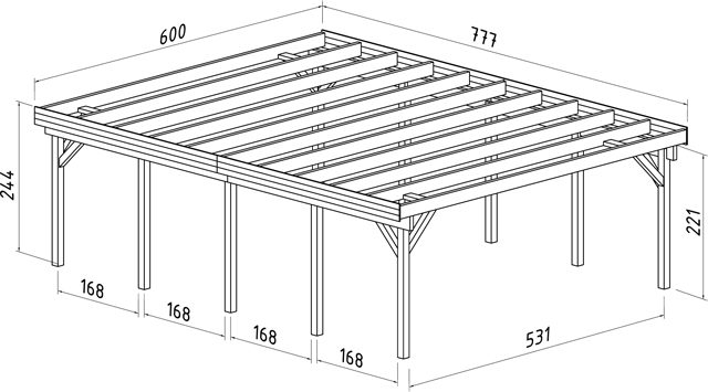 Carport design plans uk pdf woodworking for 4 car carport plans